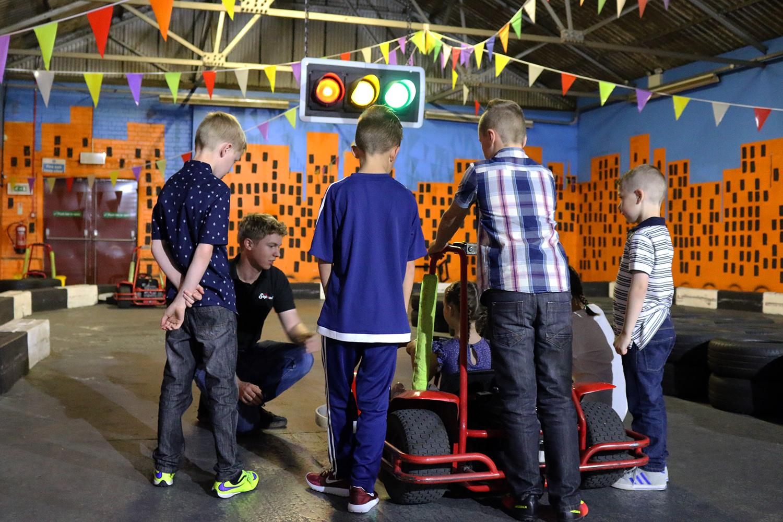 Kub Karting Party Briefing