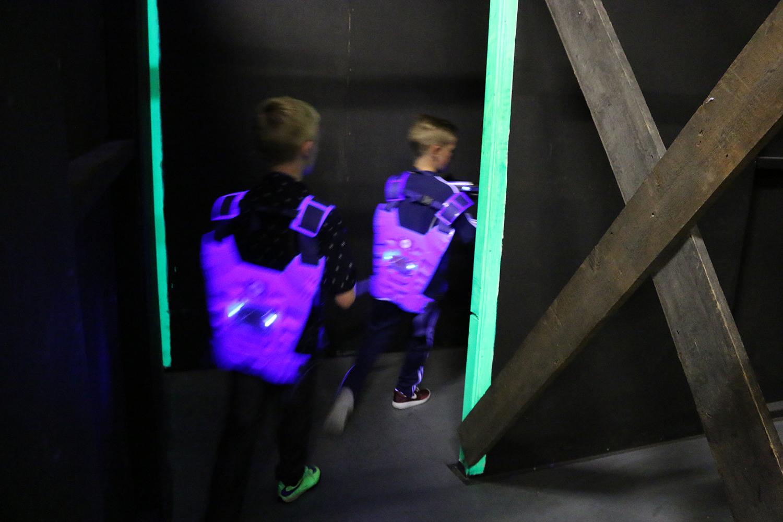 Lazer Tag Selby Blue Team