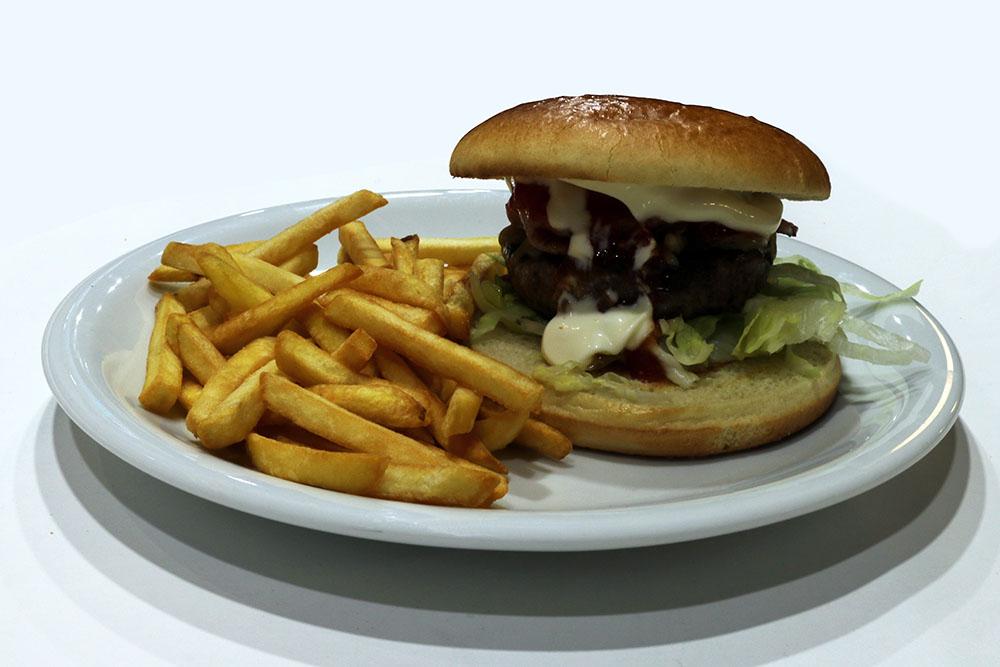 Chicken Bacon Burger Small